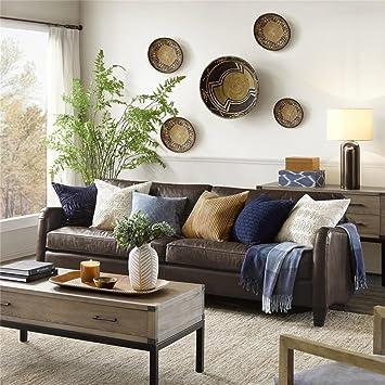 Amazon.com: Harbor House Donovan Leather Sofa: Kitchen & Dining
