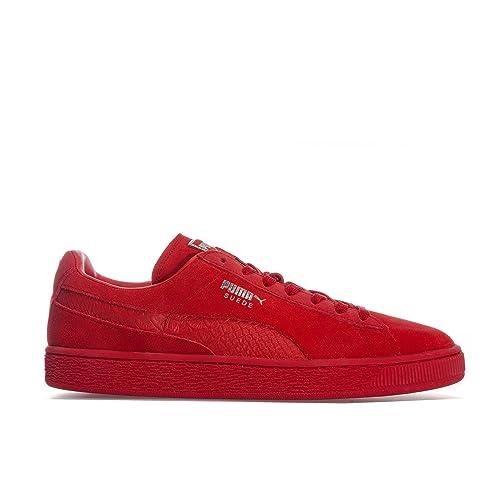 puma zapatilla hombre rojo