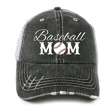 Katydid Baseball Mom Women s Trucker Hat Gray at Amazon Women s ... 53583c96895d