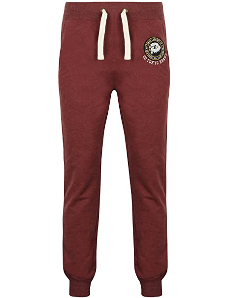 Tokyo Laundry - Pantalón Deportivo - para Hombre Rojo Oxblood 27-32