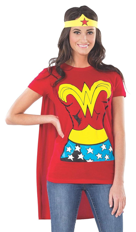 82865305 Womens Superhero T Shirts With Cape - DREAMWORKS