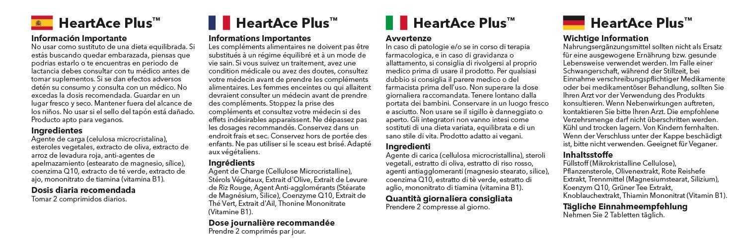 HeartAce PlusTM | Reduce y Equilibra los niveles de ...