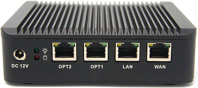 Firewall Micro Appliance With 4x Gigabit Intel® LAN Ports 16G mSATA 4G DDR3