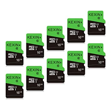 KEXIN TF Tarjeta de Memoria Micro SD de 16 GB MicroSDHS de hasta ...