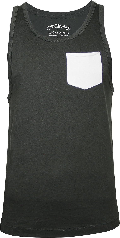 para Hombre Camiseta de Tirantes Sin Mangas JACK /& JONES