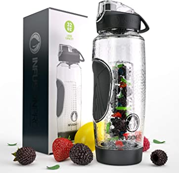 Infusion Pro 32 oz. Fruit Infuser Water Bottle