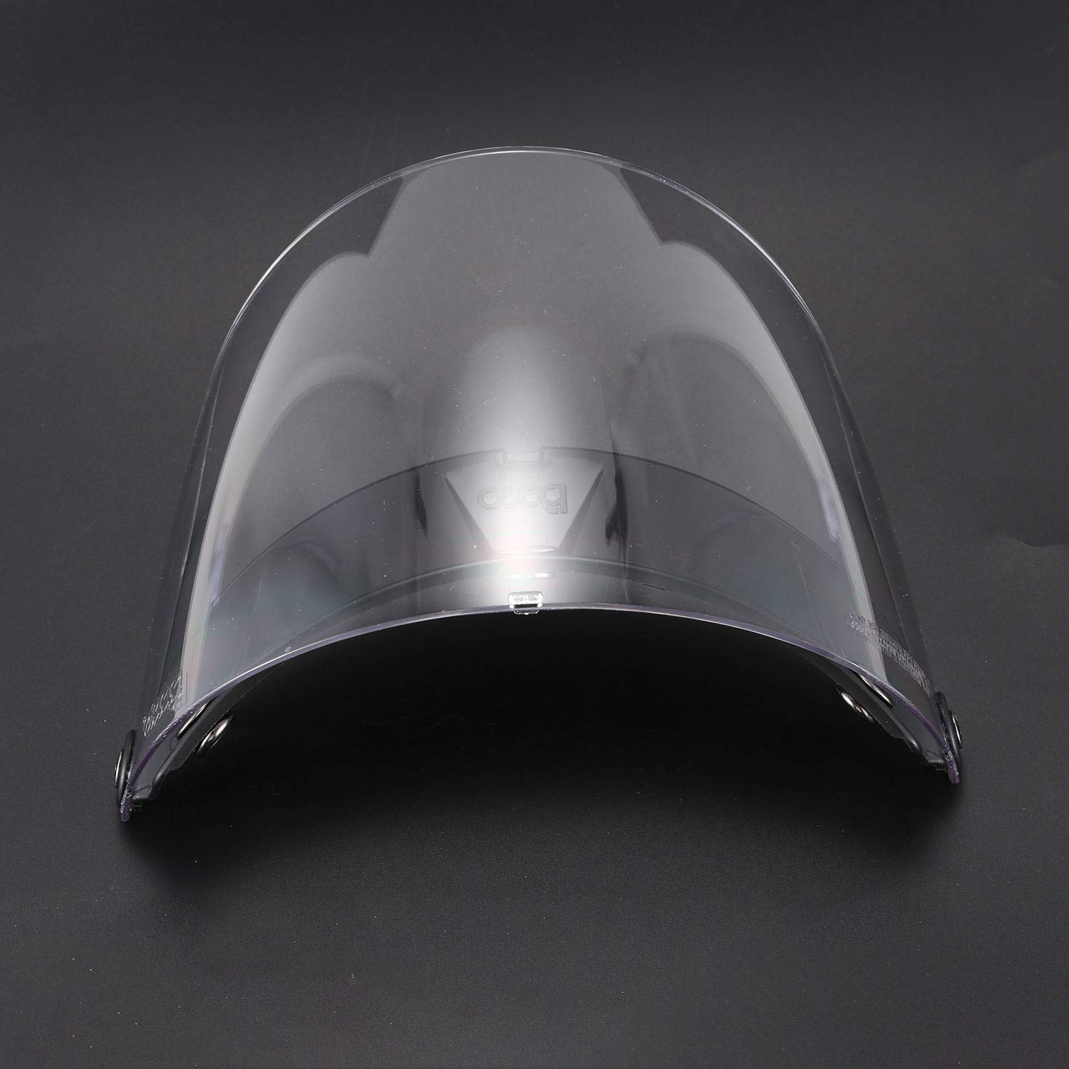 WOVELOT for motorcycles with visor for open face helmet for three Harley Harley buckles