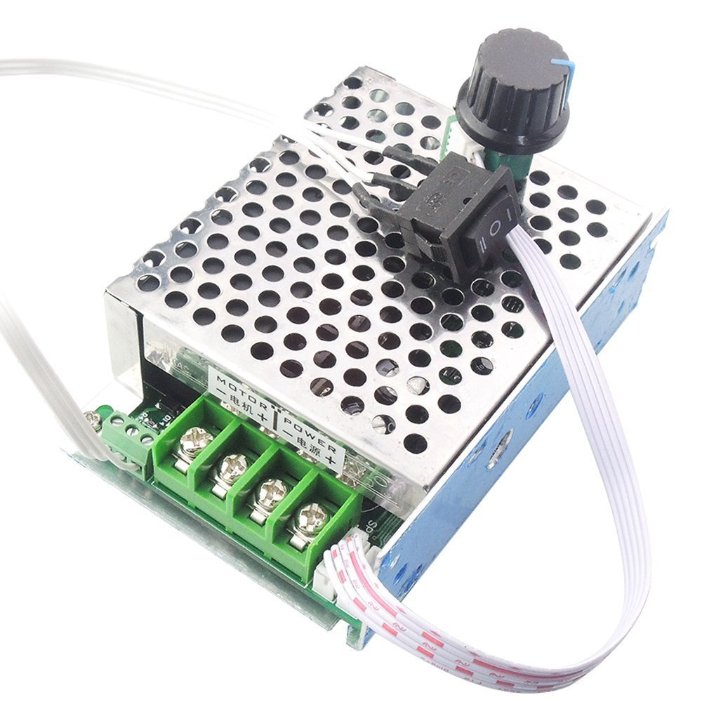 LYWS 10V-50V 40A DC Motor Speed Controller CW CCW Reversible Control Driver