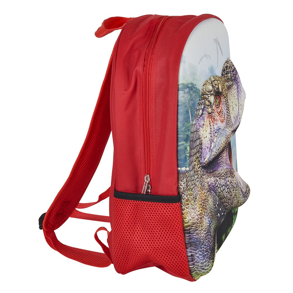 3D Jurassic Dinosaur T-Rex Backpack, Lunchbox, and Water Bottle Back to School by RIN (Image #4)