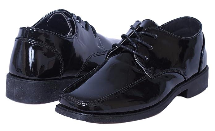 Amazon.com: Josmo Zapatos de vestir con cordones para niños ...