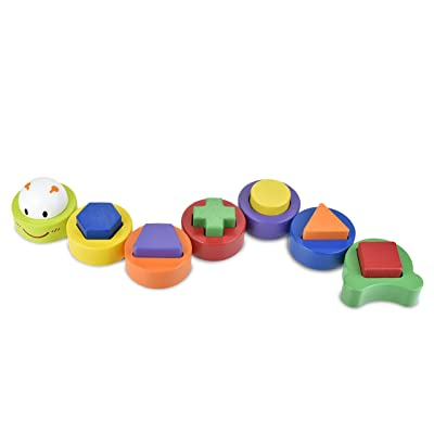 Discovery Toys Caterpillar Sort & Stack| Kid-Powered Learning | STEM Toy Early Childhood Development 19 Months and Up: Toys & Games