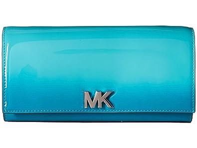 9a4f25877ac1 MICHAEL Michael Kors Mott Large East-West Clutch - Tile Blue ...