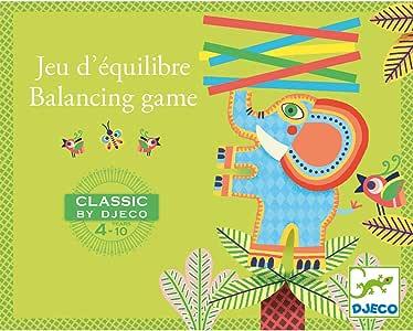 DJECO- Juegos familiaresJuegos tradicionalesDJECOJuegos clásico de Equilibrio, Multicolor (15): Amazon.es: Juguetes y juegos