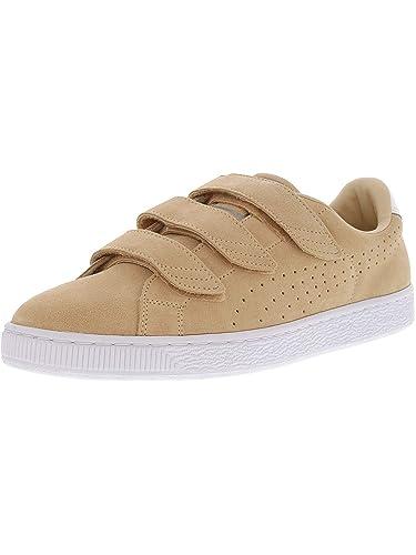 info pour 691a8 5b039 Amazon.com | PUMA Basket Classic Strap Casual Men's Shoes ...