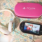 Amazon.com: Hard Pouch for PlayStation Vita (Pink): Video Games