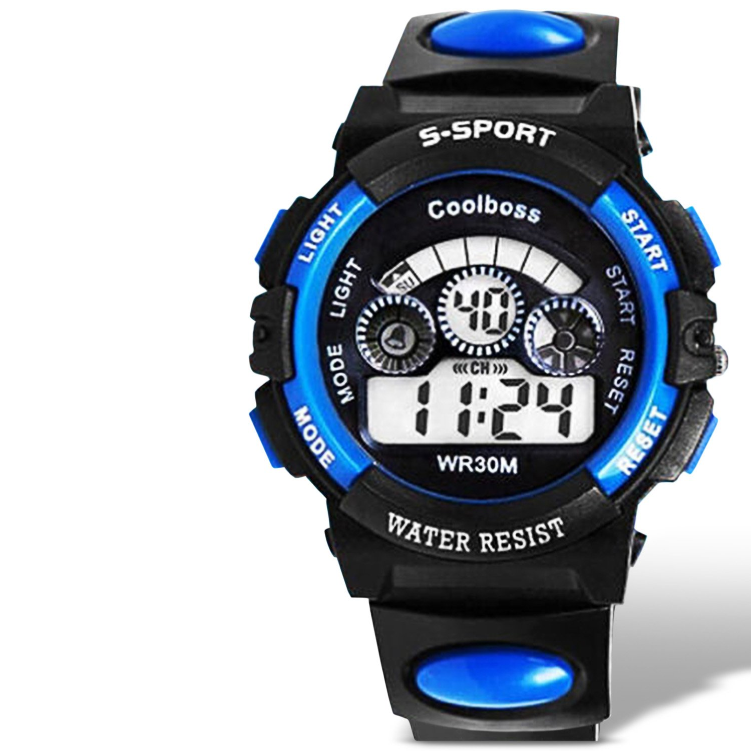 Boys Sports Watches Digital Multi Function Display with ...