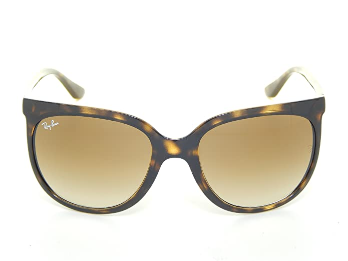 061c33cee8 Amazon.com  New Ray Ban Cats1000 RB4126 710 51 Demi Brown Brown Gradient  Lens 57mm Sunglasses  Shoes