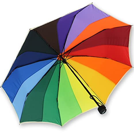 iX-brella pocket - Plegable Varios colores regenbogen 97 cm