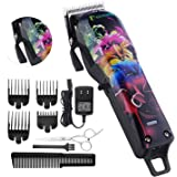 BESTBOMG Pro Hair Clippers for Men Kids Baby Professional Cordless Rechargeable Beard Trimmers Hair Cutting Kits with…