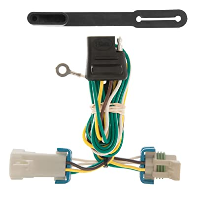 CURT 55359 Vehicle-Side Custom 4-Pin Trailer Wiring Harness for Select Chevrolet S-10, GMC S-15, Sonoma, Isuzu Hombre: Automotive