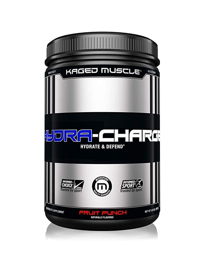 Kaged Muscle Hydra Charge Premium Electrolyte - 60 Servings (Fruit Punch) Sports Supplements at amazon