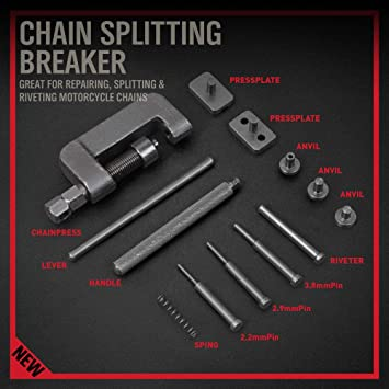 Pro-Series Chain Rivet Extractor CP Fits Most Chains Bike//Cycling Tool