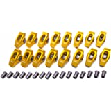 Gold Race Rockers w/ 1.7 Ratio for 7/16' Stud AMC 290-401, Ford 221-351W,Olds V8