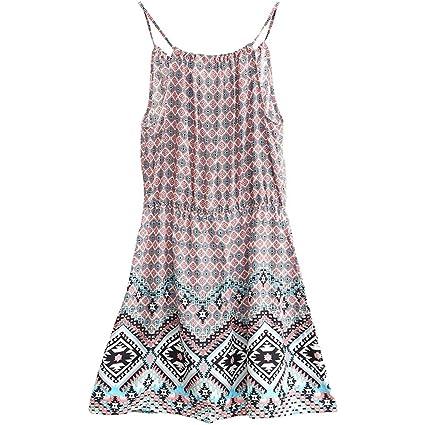 ALUK- Summer Sweet Sexy Sling Ladies Sleep Dress Moda cómodos pijamas caseros (Color :