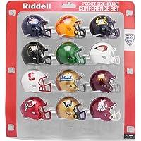 Riddell Pocket Pro Speed Helmet PAC 12 Conference Set 12 Helmets in set - 2020 Set photo