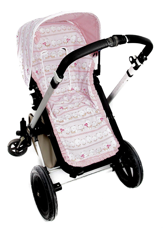 FUNDA SILLA PARA BUGABOO (Serie ositos)  color rosa- SIN ...