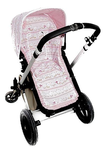 FUNDA SILLA PARA BUGABOO (Serie ositos)  color rosa- SIN CAPOTA ...