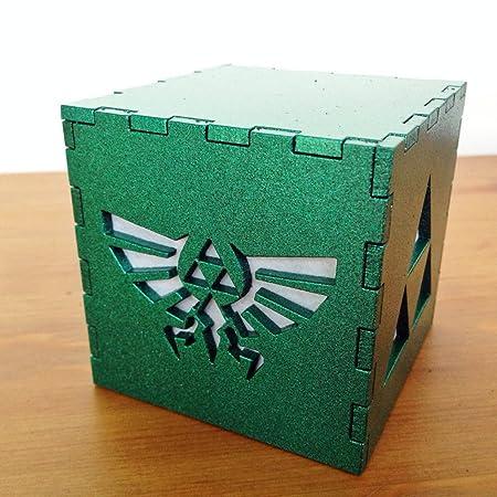 Handmade Legend Of Zelda Triforce Light Box, Lamp, Or Nightlight