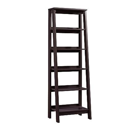 Amazoncom Sauder 414602 Trestle 5 Shelf Bookcase W 2354 X L