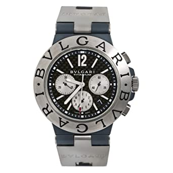 55ec1340882a7 Image Unavailable. Image not available for. Color: Bvlgari Diagono Automatic -self-Wind Male Watch ...