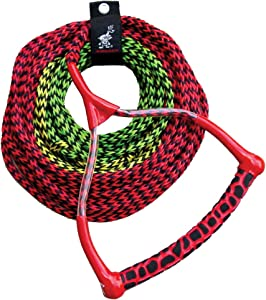 AIRHEAD Ski Rope, 3 Section, Radius Handle