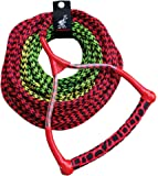 Airhead Ski Rope, 3 Section, Radius Handle, Multi Colored