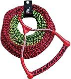 AIRHEAD AHSR-3, 3-Section Water Ski Rope with Radius Handle and EVA Grip