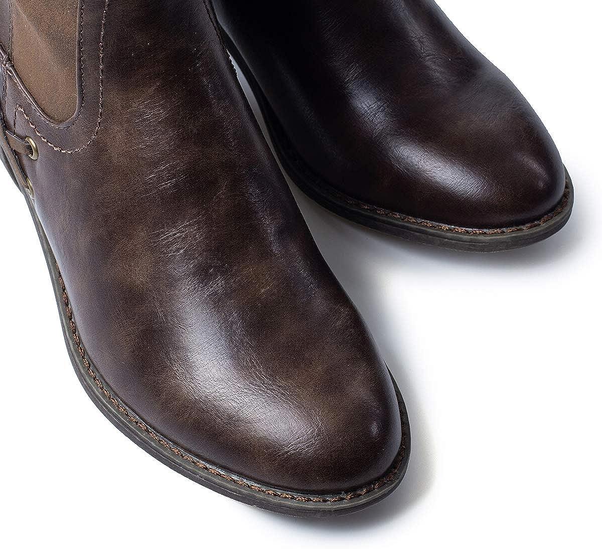 Camfosy Chaussures de Randonn/ée Hiver Femme Bottes de Neige Imperm/éable Apr/ès Ski Baskets Fourrure en Su/ède Bottines Fourr/ées Boots Apr/ès Ski pour Filles Marche Nordique