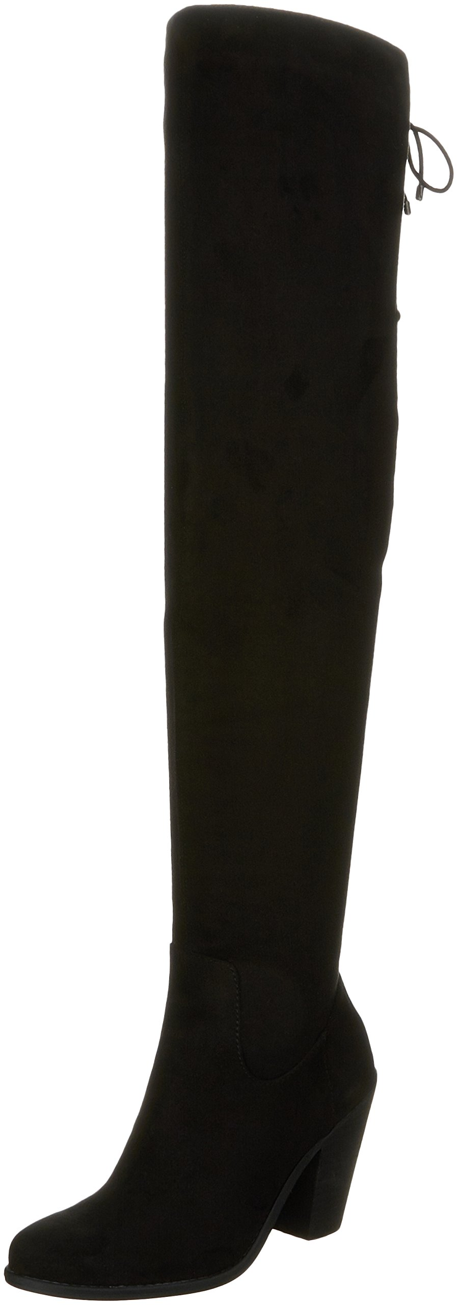 Jessica Simpson Women's Coriee Over The Knee Boot,Black Stretch Microsuede,US 9 by Fancy Jessica Simpson