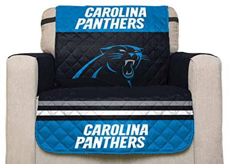 Ordinaire Pegasus Sports NFL Carolina Panthers Chair Reversible Furniture Protector  With Elastic Straps, 75 Inches