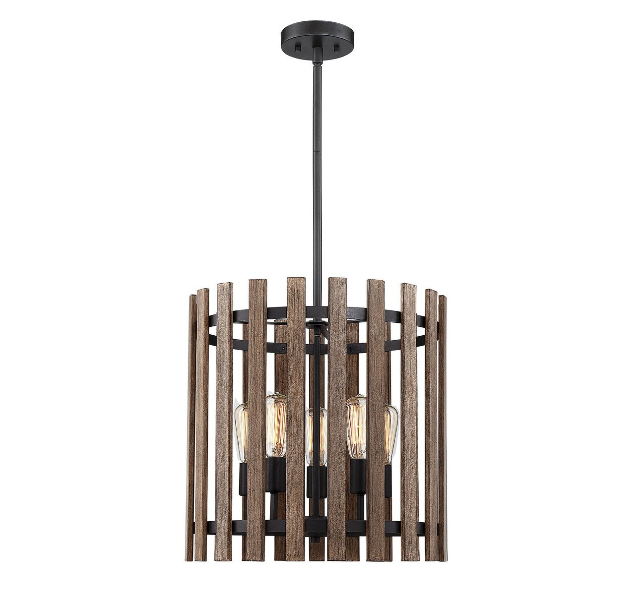 Savoy House 7-4102-5-133 Santiago - Five Light Pendant, Sapele Finish