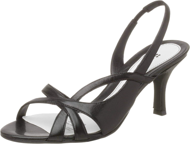 Naturalizer Womens Prissy Sandal,Black Fabric,11 M