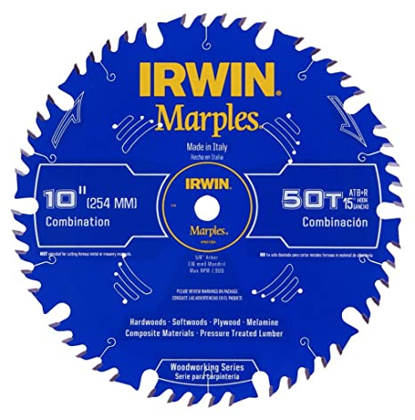 Irwin tools 1807368 marples laser cut 10 inch 50 tooth alternate irwin tools 1807368 marples laser cut 10 inch 50 tooth alternate tooth bevel with greentooth Images