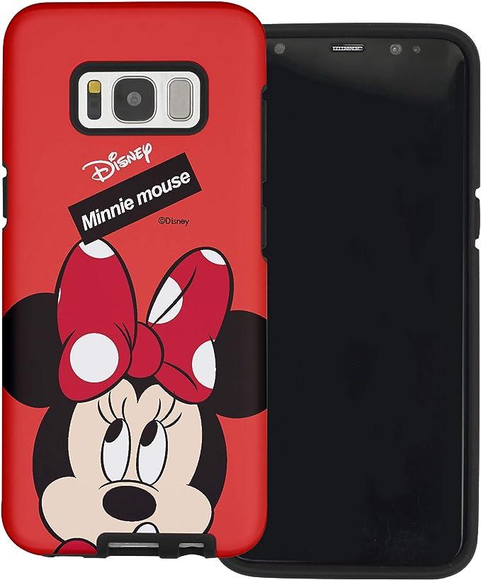 Funda Galaxy S8 [Protección híbrida contra caídas] Disney Minnie ...