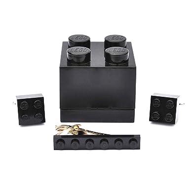 LEGO® placa Gemelos & Corbata Slide (negro) para hombre boda ...