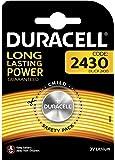Duracell DL2430 - Batteria al Litio Specialistica a Bottone, Confezione da 1