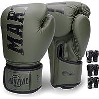 Martial's Boxningshandskar av Massivt Material för Lång Hållbarhet - Kickboxningshandskarna för Kampsport, MMA, Sparring…