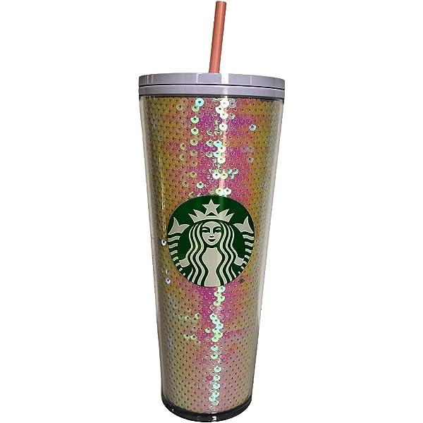 Starbucks Christmas 2020 Holiday Purple Sequin Glitter Tumbler Free Shipping