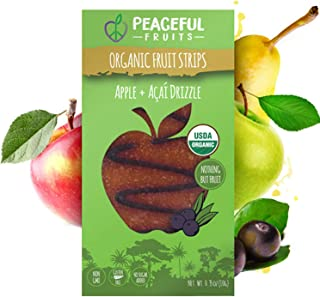 product image for Peaceful Fruits 100% Fruit Strips (Apple, 12 count)