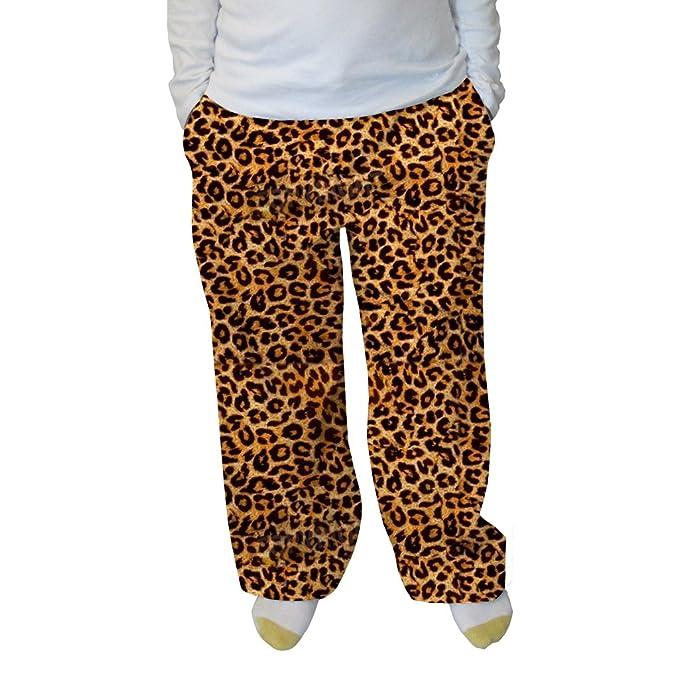 Amazon.com: Abuela pantalones de mujer gato de la selva ...